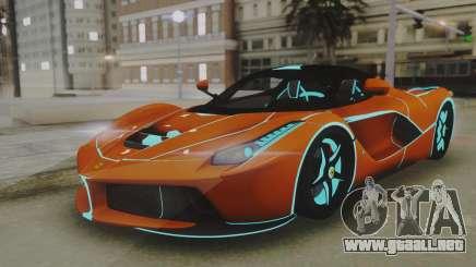 Ferrari LaFerrari TRON Edition v1.0 para GTA San Andreas
