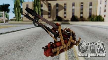 Fallout 4 - Flamethrower para GTA San Andreas