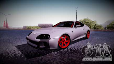 Toyota Supra Drift Monster Energy para GTA San Andreas
