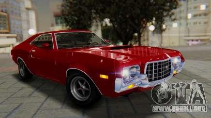 Ford Gran Torino Sport SportsRoof (63R) 1972 PJ1 para GTA San Andreas