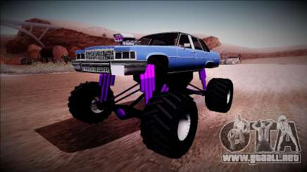 GTA 4 Emperor Monster Truck para GTA San Andreas