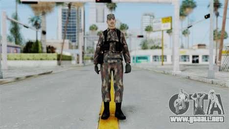 MH x Hungarian Army Skin para GTA San Andreas segunda pantalla