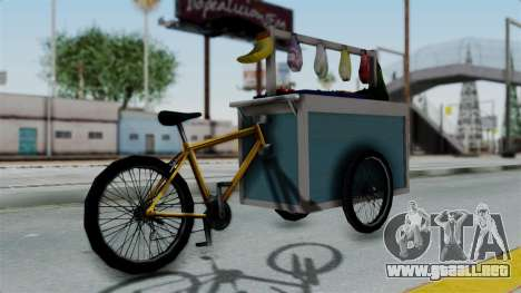 Gerobak Sayur (Vegetable Carts) para GTA San Andreas left
