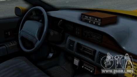 Chevrolet Caprice 1991 Taxi para la visión correcta GTA San Andreas