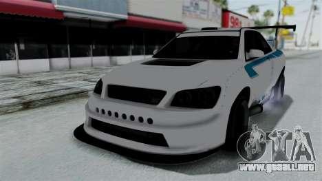 GTA 5 Karin Sultan RS Drift Double Spoiler PJ para las ruedas de GTA San Andreas