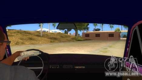 VAZ 2101 Perro para visión interna GTA San Andreas