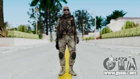 Crysis 2 US Soldier FaceB2 Bodygroup B para GTA San Andreas segunda pantalla