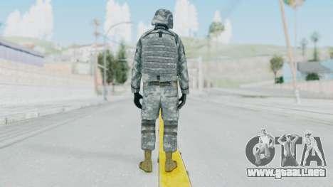 Acu Soldier Balaclava v1 para GTA San Andreas tercera pantalla