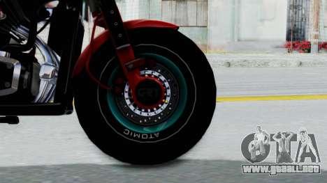 Turbike 3.0 para GTA San Andreas vista posterior izquierda