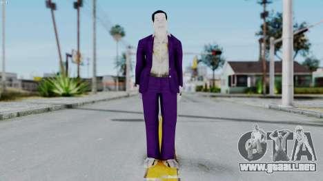 Bully Insanity Edition - MJ para GTA San Andreas segunda pantalla