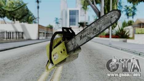 No More Room in Hell - Chainsaw para GTA San Andreas