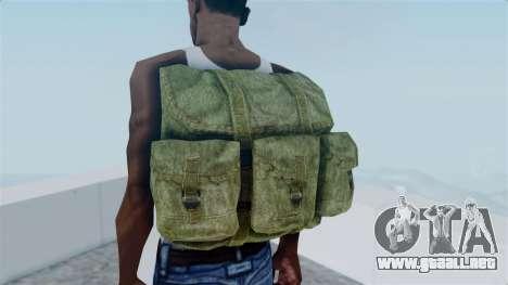 Arma 2 Alice Backpack para GTA San Andreas tercera pantalla