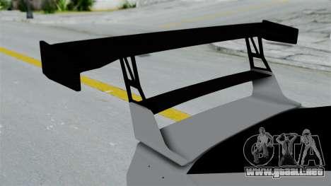 GTA 5 Karin Sultan RS Drift Double Spoiler PJ para GTA San Andreas vista hacia atrás