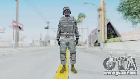 Acu Soldier Balaclava v1 para GTA San Andreas segunda pantalla