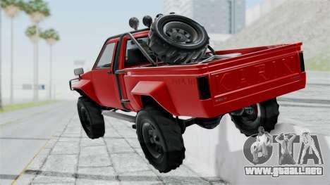 GTA 5 Karin Rebel 4x4 para GTA San Andreas left