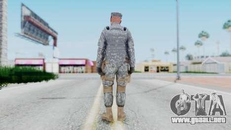 GTA 5 US Marine para GTA San Andreas tercera pantalla