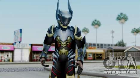 Kingdom Hearts BBS - Ventus Armored v1 para GTA San Andreas