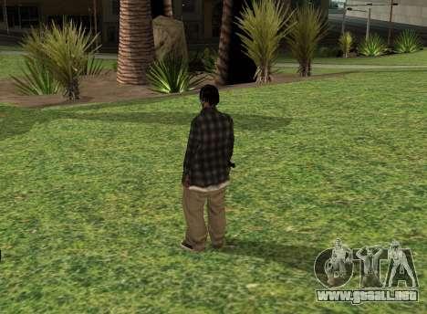 Black fam2 para GTA San Andreas segunda pantalla