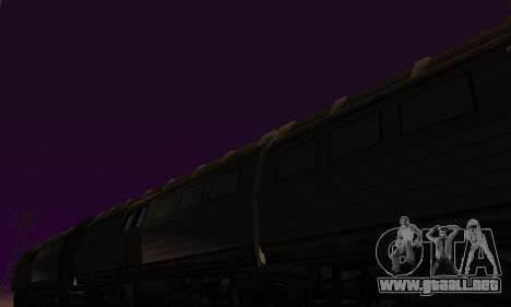 Batman Begins Monorail Train Vagon v1 para visión interna GTA San Andreas