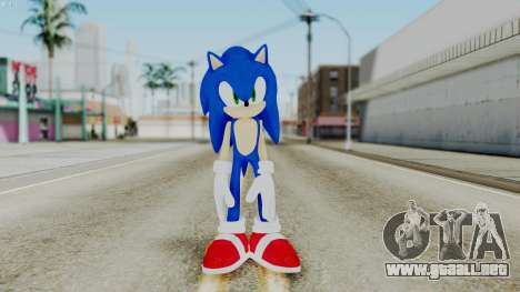 Sonic The Hedgehog 2006 para GTA San Andreas segunda pantalla