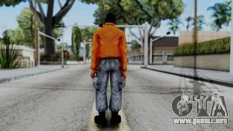 CS 1.6 Hostage 04 para GTA San Andreas tercera pantalla