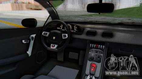 GTA 5 Pegassi Vacca IVF para vista lateral GTA San Andreas