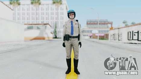 GTA 5 Cop-Biker para GTA San Andreas segunda pantalla