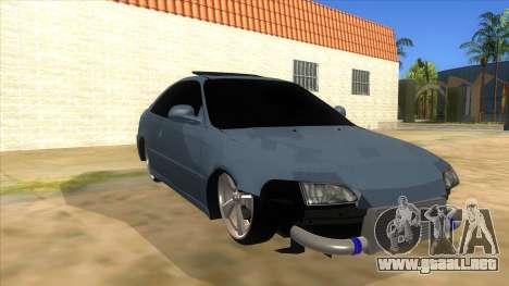 Honda Civic Coupe 1995 para GTA San Andreas vista hacia atrás