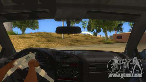 BMW M3 E36 para vista inferior GTA San Andreas