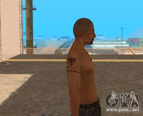 Derek Vinyard: American history X para GTA San Andreas tercera pantalla