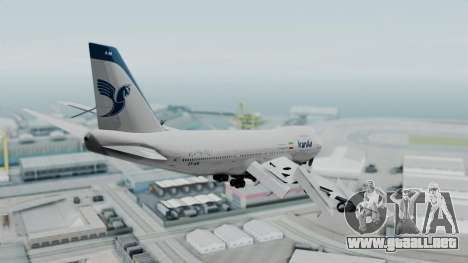 Boeing 747-186B Iran Air para la visión correcta GTA San Andreas