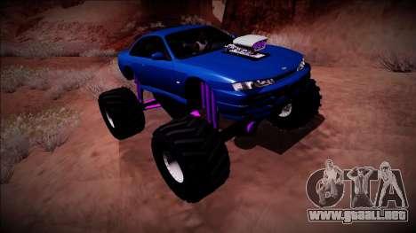 Nissan Silvia S14 Monster Truck para el motor de GTA San Andreas