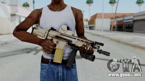 Arma2 MK16 Holo para GTA San Andreas tercera pantalla