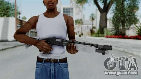 GTA 5 Pump Shotgun - Misterix 4 Weapons para GTA San Andreas tercera pantalla