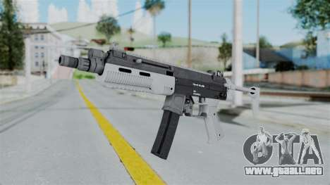 GTA 5 SMG - Misterix 4 Weapons para GTA San Andreas