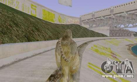 Chewbacca para GTA San Andreas tercera pantalla