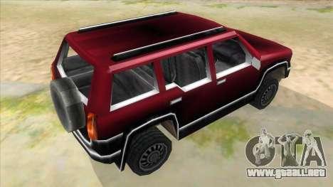 GTA III Landstalker para la visión correcta GTA San Andreas