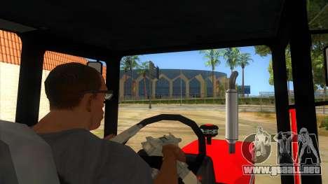Massley Ferguson Tractor para visión interna GTA San Andreas