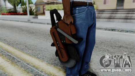 No More Room in Hell - Abrasive Saw para GTA San Andreas tercera pantalla