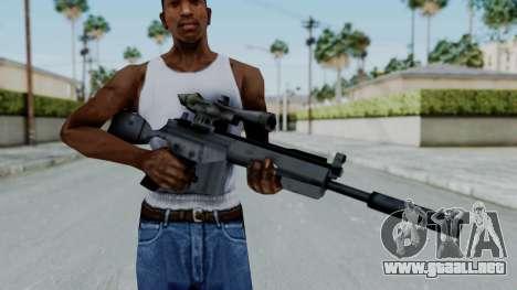 Vice City PSG-1 para GTA San Andreas tercera pantalla