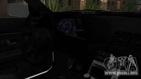 Nissan Skyline R32 Monster Truck para la visión correcta GTA San Andreas
