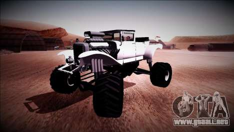 GTA 5 Albany Franken Stange Monster Truck para la visión correcta GTA San Andreas