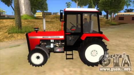 Massley Ferguson Tractor para GTA San Andreas left