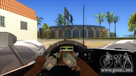 Audi R10 para visión interna GTA San Andreas