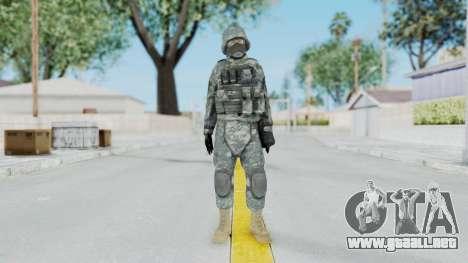 Acu Soldier 5 para GTA San Andreas segunda pantalla