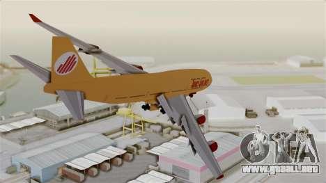 GTA 5 Jumbo Jet v1.0 Adios Airlines para la visión correcta GTA San Andreas