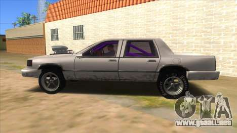Stretch Sedan Drag para GTA San Andreas left