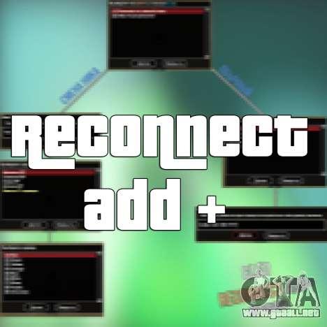 Reconnect Add para GTA San Andreas