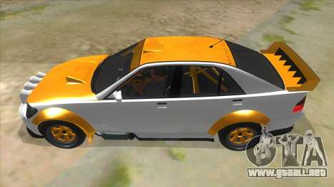GTA V Karin Sultan RS 4 Door para GTA San Andreas left