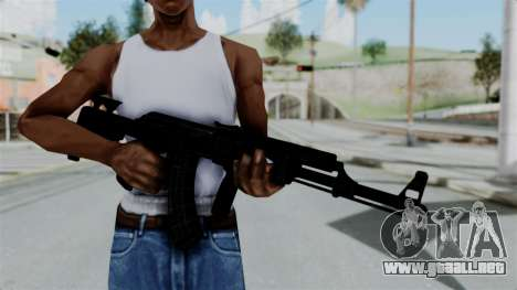 AK-47 Tactical para GTA San Andreas